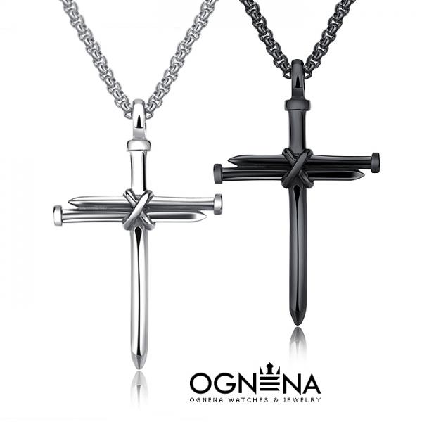 Колие Pin Cross