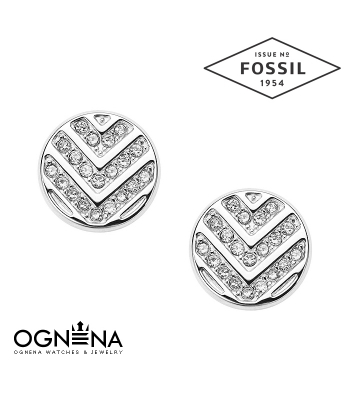 Обеци Fossil JF02667040