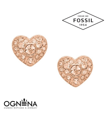 Обеци Fossil JF01151791