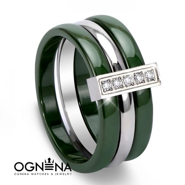 Пръстен Green 0017