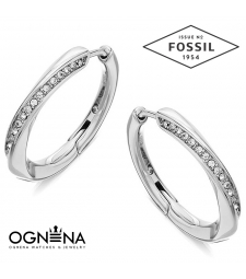 Обеци Fossil JF03015040