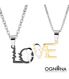 Сет колиета Me and You Gold