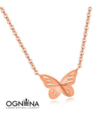 Колие Butterfly Gold