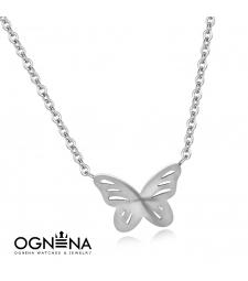 Колие Butterfly Silver