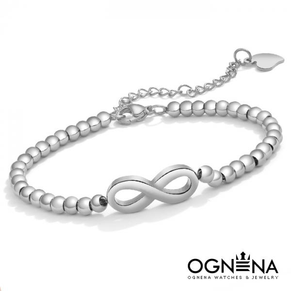 Гривна Infinity Silver