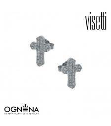 Обеци VISETTI 9A-SC149-1