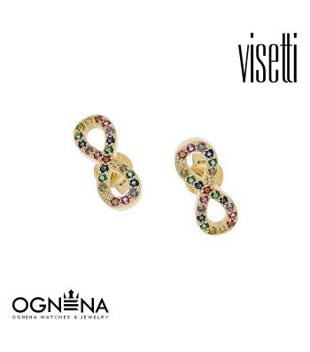 Обеци VISETTI 9B-SC081-5