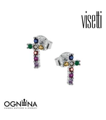 Обеци VISETTI 9B-SC071-1