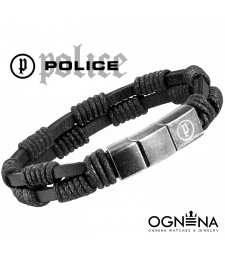 Гривна Police TWIN ROW Black