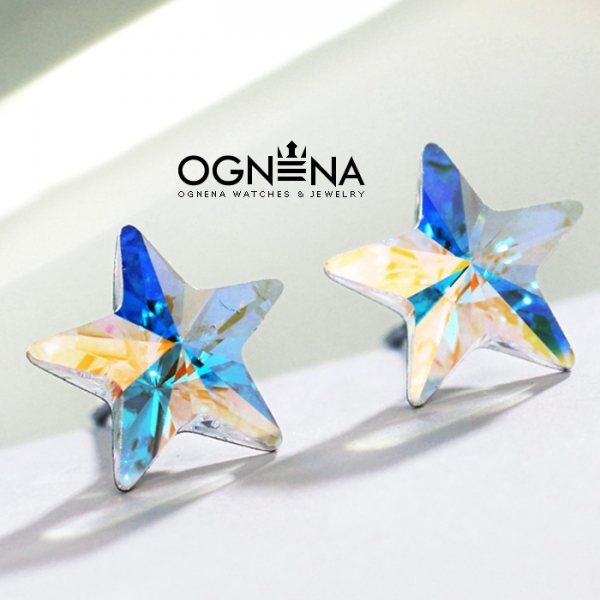 Обеци Aurora Stars