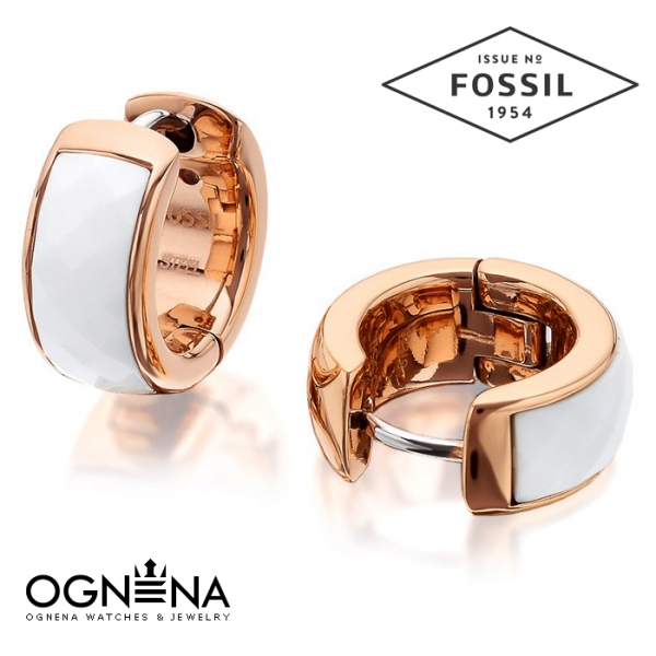 Обеци Fossil JF01120791