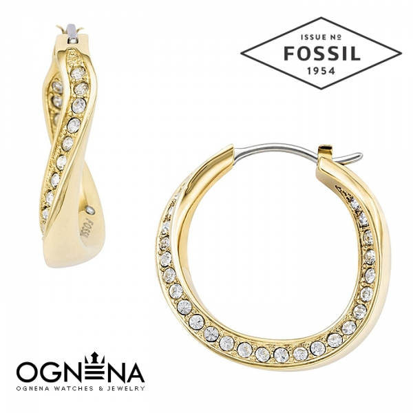 Обеци Fossil JF01611710