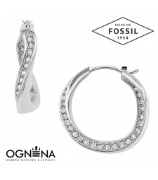 Обеци Fossil JF01144040