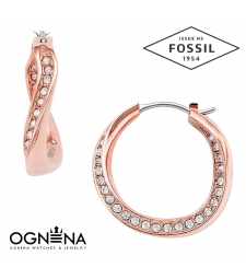 Обеци Fossil JF01299791