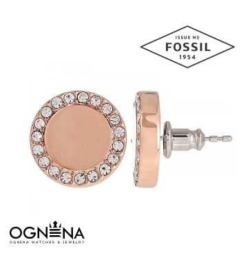 Обеци Fossil JF01792791