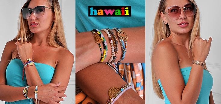 Гривни с мъниста Hawaii